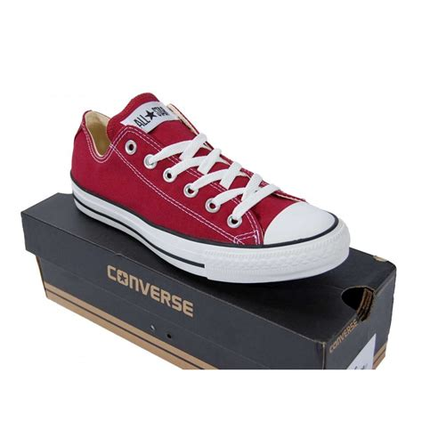 151262F MEN CHUCK TAYLOR ALL STAR OX CONVERSE MAROON